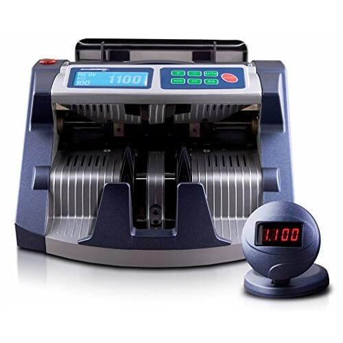 1-AccuBANKER AB 1100 PLUS UV/MG maşină de numărat bani
