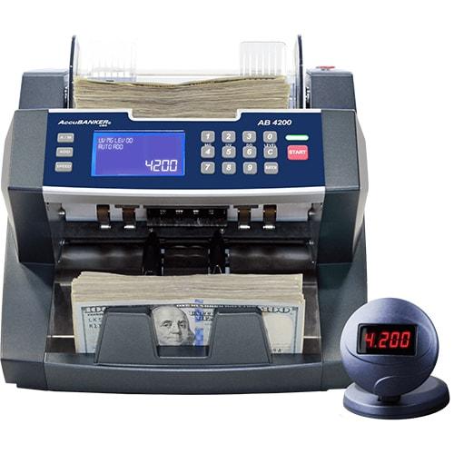 1-AccuBANKER AB 4200 UV/MG maşină de numărat bani