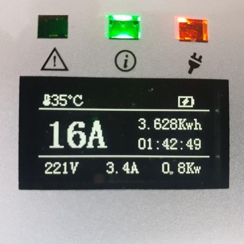 3-EV EVSE Type1 (16A) Cabluri EV