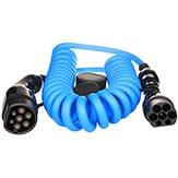 EV Type2 -> Type2 spiral (3x16A) Cabluri EV