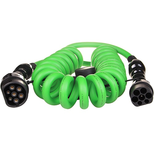 1-EV Type2 -> Type2 spiral (3x32A) Cabluri EV