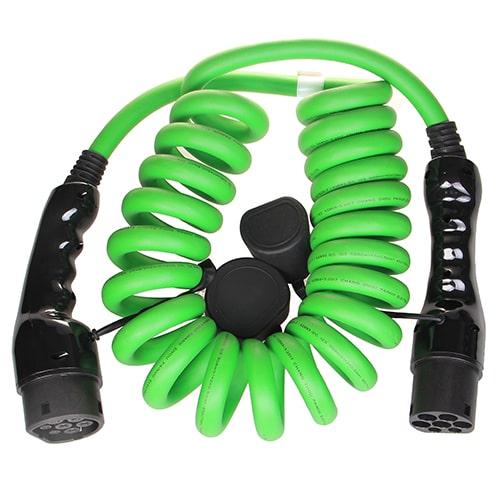 2-EV Type2 -> Type2 spiral (3x32A) Cabluri EV