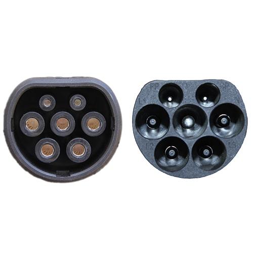 4-EV Type2 -> Type2 spiral (3x32A) Cabluri EV