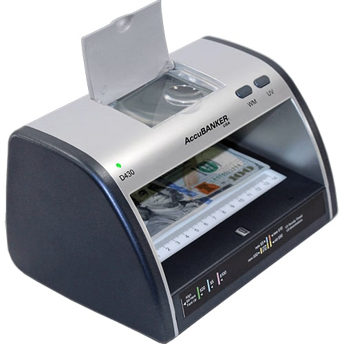 2-AccuBANKER LED430 verificator de bancnote