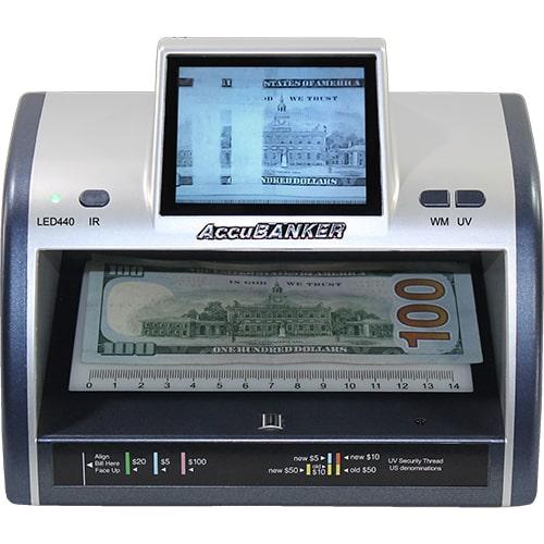 1-AccuBANKER LED440 verificator de bancnote