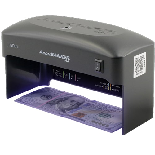 1-AccuBANKER LED61 verificator de bancnote