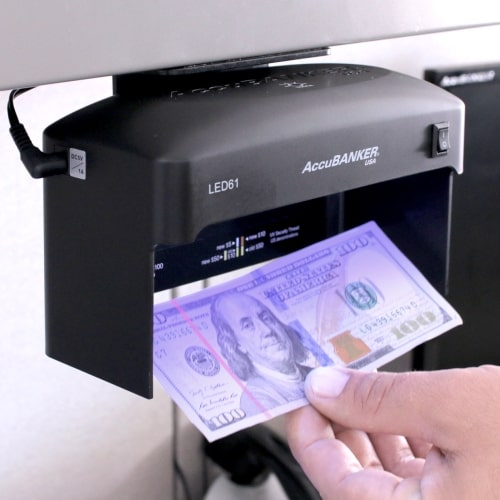 2-AccuBANKER LED61 verificator de bancnote